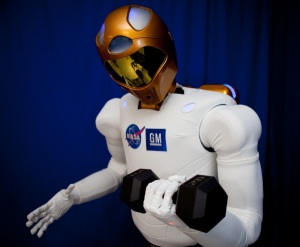 Robonaut 2 Holding Weight