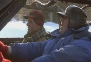 The Destroyed Car in Planes, Trains, and Automobiles