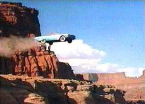 The Cliff Jumping Scene in Thelma And Louise