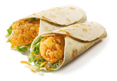 KFC/McDonald's/Wendy's Snack Wraps